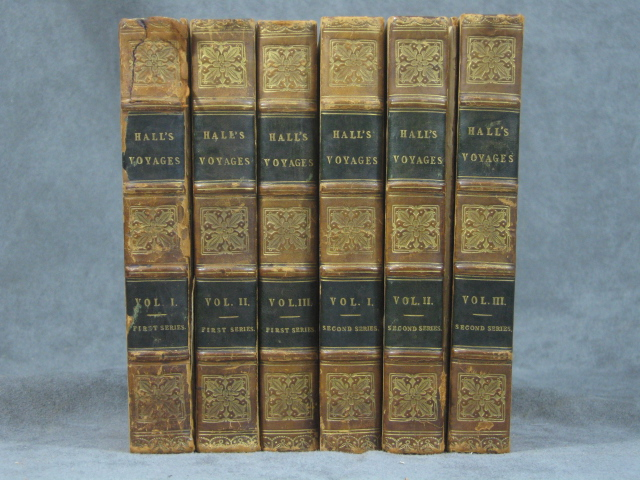 Fragments of Voyages and Travels, The First and Second Series, both complete in 3 volumes (six volumes total). Basil Hall.