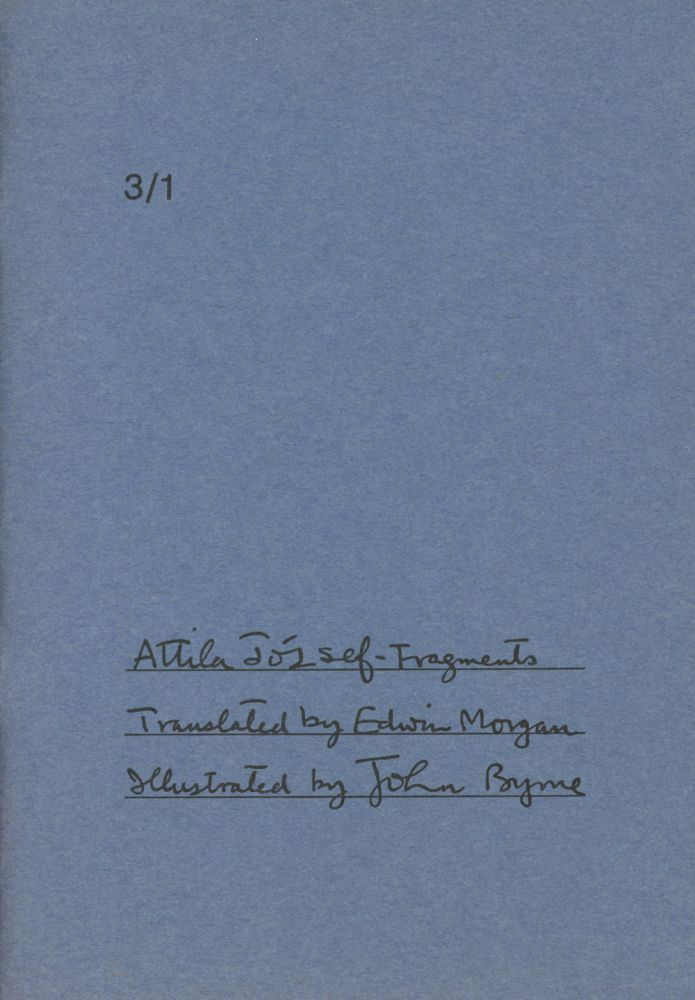 Fragments -- A Morning Star Folio, Third Series, Volume 1