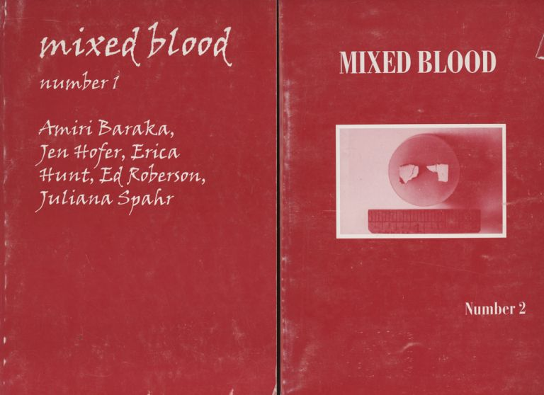 Mixed Blood, two issues, Numbers 1 and 2