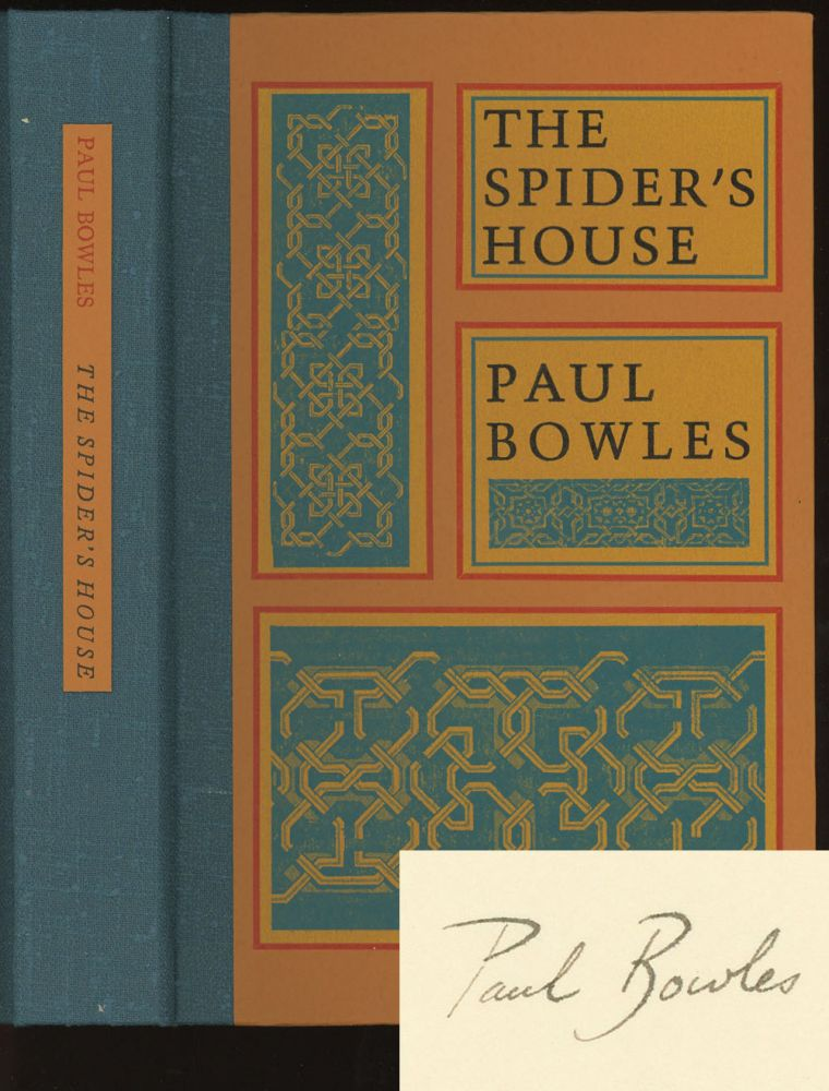 The Spider's House -- 1/350 signed copies