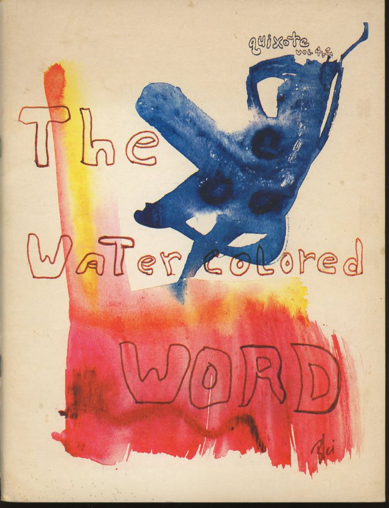 Quixote, Volume 4, Number 2: The Watercolored Word