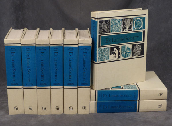 Journal of the Ex Libris Society: Volumes I-XVIII (Complete set in nine volumes). n/a.