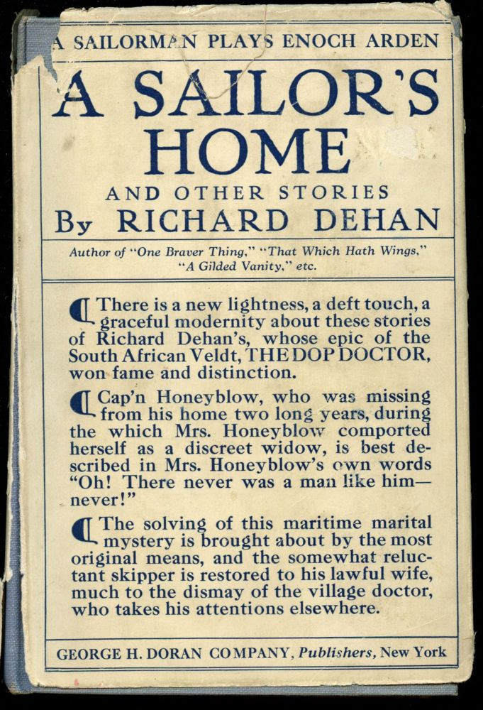 A Sailor's Home and Other Stories. Richard Dehan.