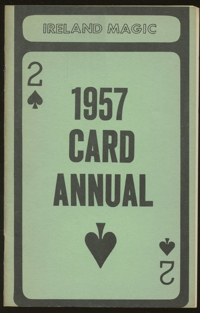 1957 Card Annual: Volume Two [This volume only]. n/a.