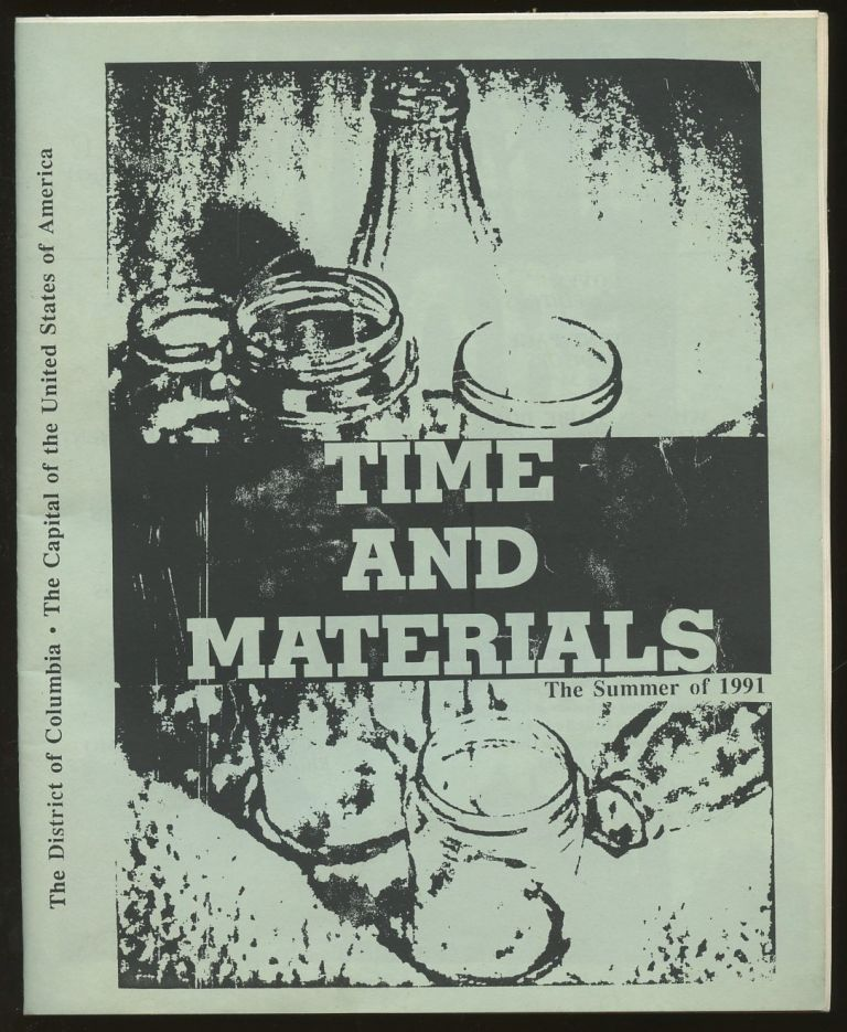 Time and Materials: The Summer of 1991 [Vol. 1, No. 1, Summer 1991]. n/a.