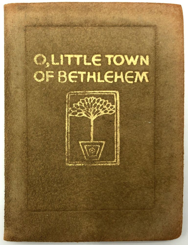 O, Little Town of Bethlehem, with thoughts of the Christmas Season. Phillips Brooks.