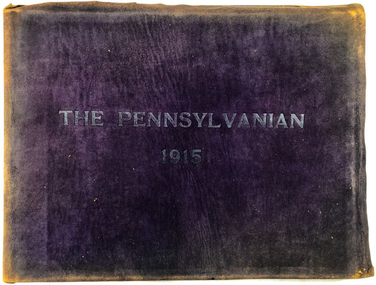 The Pennsylvanian 1915 - the first yearbook of the Pennsylvania College for Women / Chatham College, Pittsburgh PA. Pennsylvania College for Women Chatham College.
