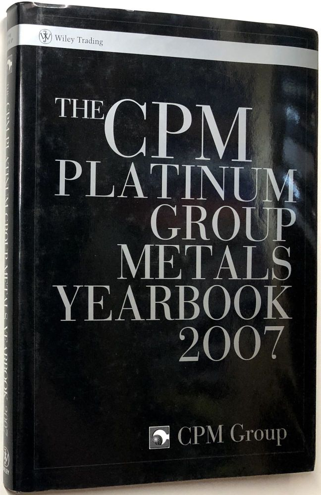 the cpm platinum group metals yearbook 2007 cpm group. Black Bedroom Furniture Sets. Home Design Ideas