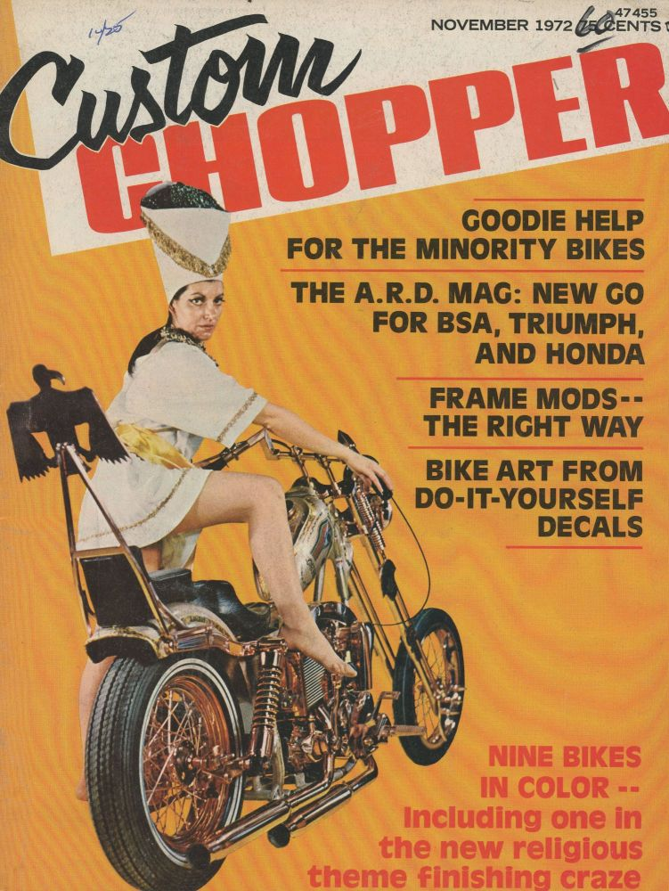 Chopper Magazines, Group of 30, 1970-1977, Various Titles