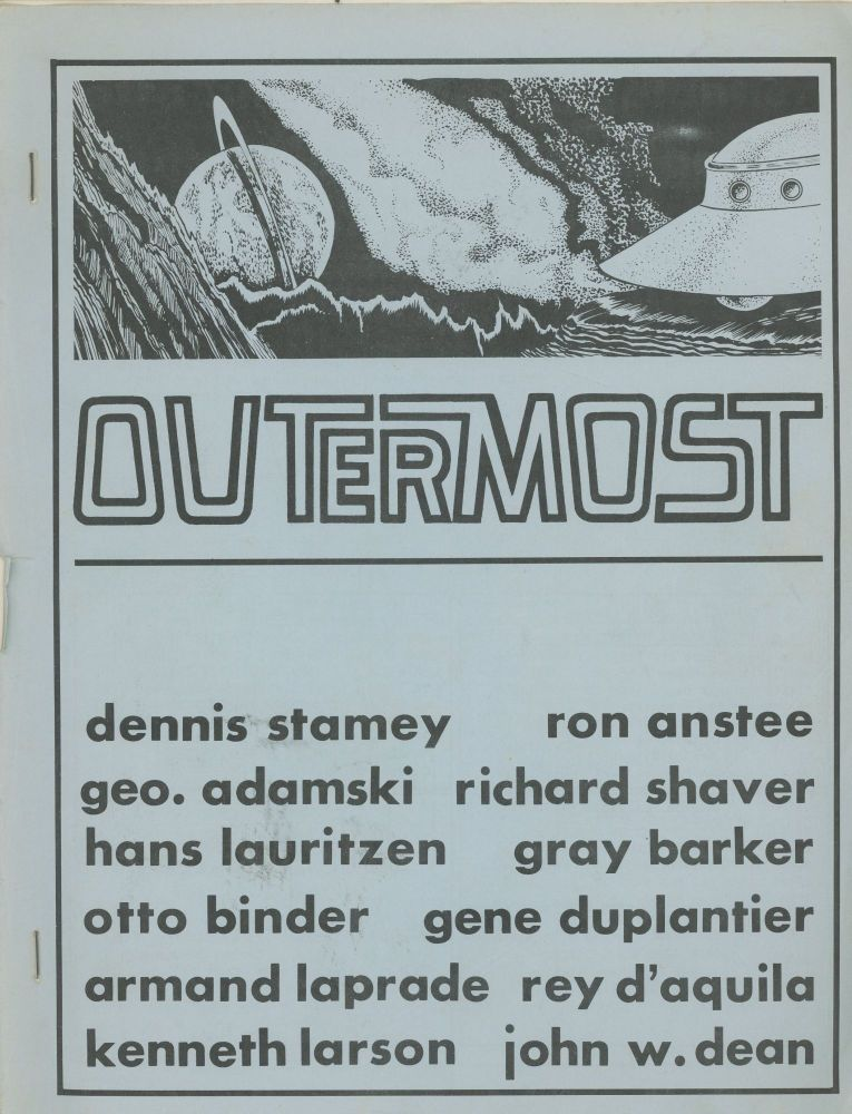 Outermost UFO Periodical, Ca. 1970