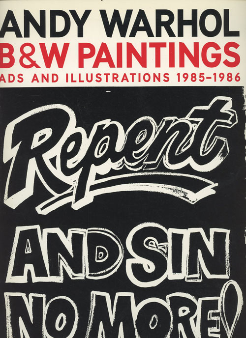B&W Paintings: Ads and Illustrations 1985-1986
