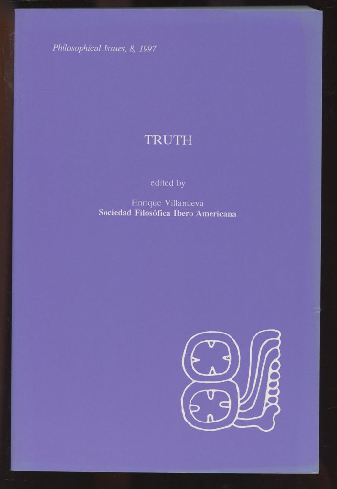 Truth (Philosophical Issues, 8, 1997)