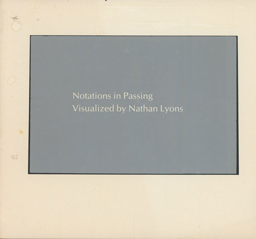 Notations in Passing (SIGNED)