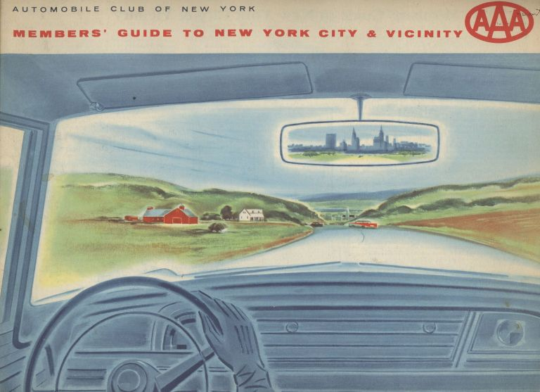 AAA Members' Guide to New York City and Vicinity. Automobile Club of New York.