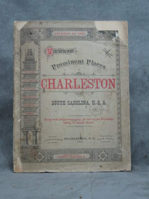 Views of Prominent Places in Charleston, South Carolina, U.S. A....