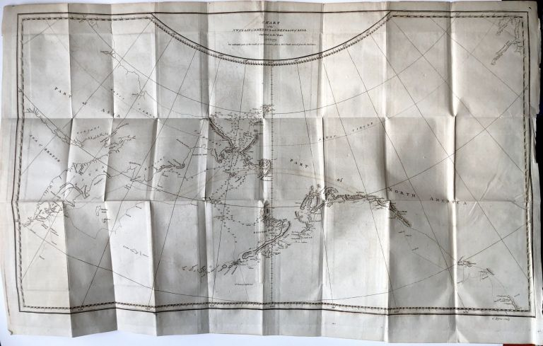 Chart of the NW Coast of America and NE Coast of Asia Explored in the Years 1778 & 1779. James Cook.