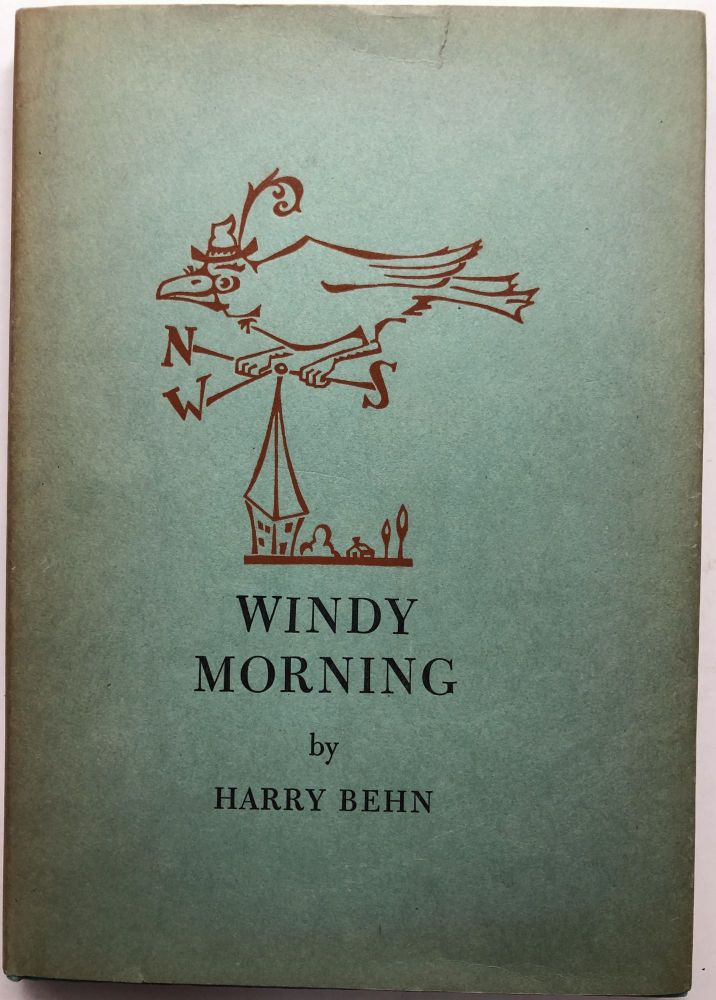 Windy Morning, Poems and Pictures. Harry Behn.