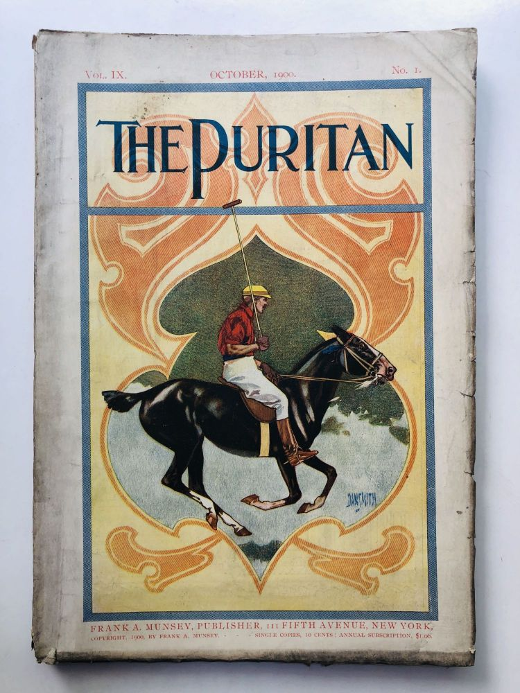 October 1900 The Puritan a Journal for Gentlewomen, with which is combined Godey's Magazine. Anne O'Hagan Carolyn Wells, Abigail Powers.