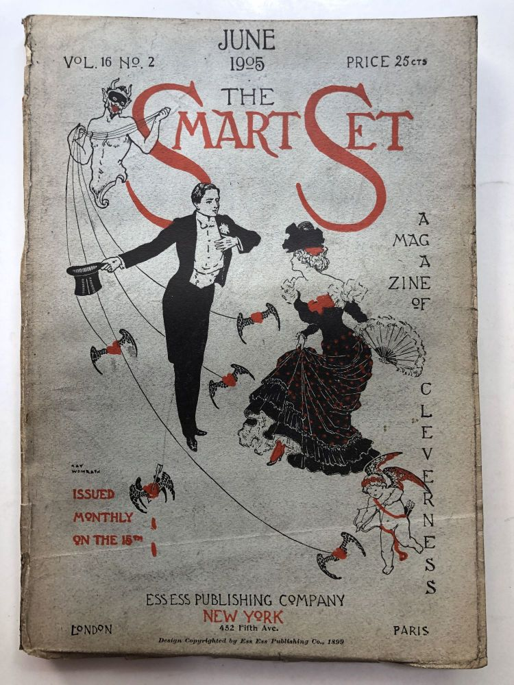 The Smart Set, a Magazine of Cleverness, June 1905. Wallace Irwin Bliss Carman, Arthur Stringer.