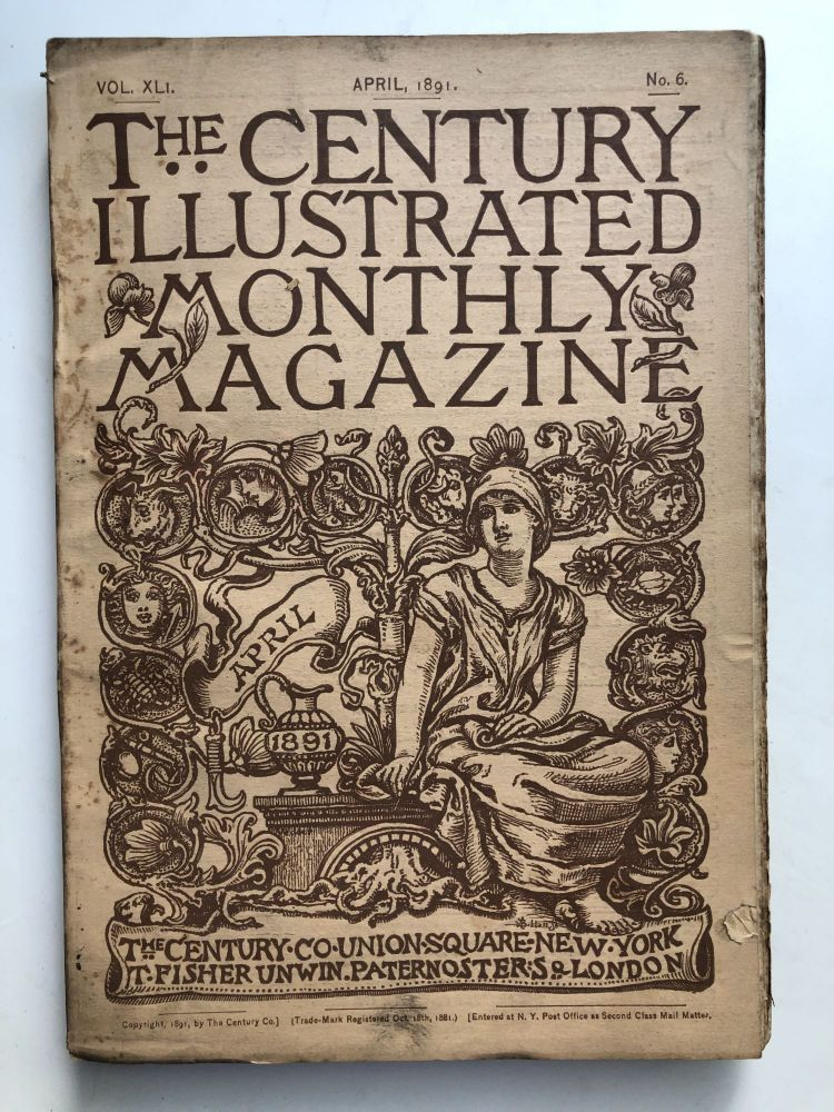 The Century Illustrated Monthly Magazine, April 1891. Frederick Schwatka John Charles Fremont.