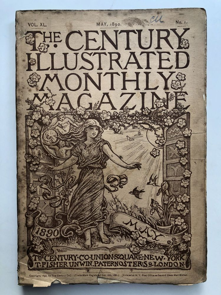 The Century Illustrated Monthly Magazine, May 1890. Walt Whitman George Kennan.