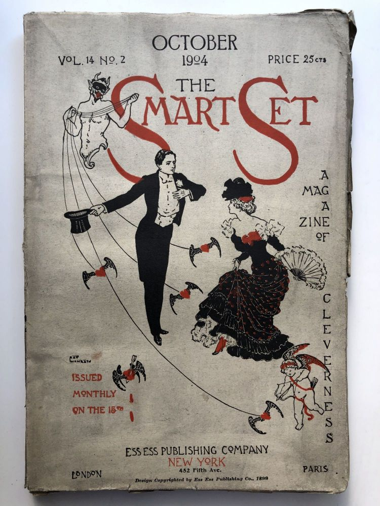 The Smart Set, a Magazine of Cleverness, October 1904. Barry Pain Joaquin Miller.