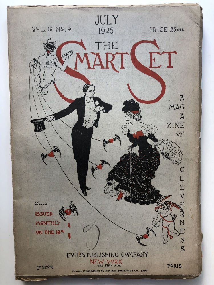 The Smart Set, a Magazine of Cleverness, July 1906. Ludwig Lewisohn Mary Lowell.