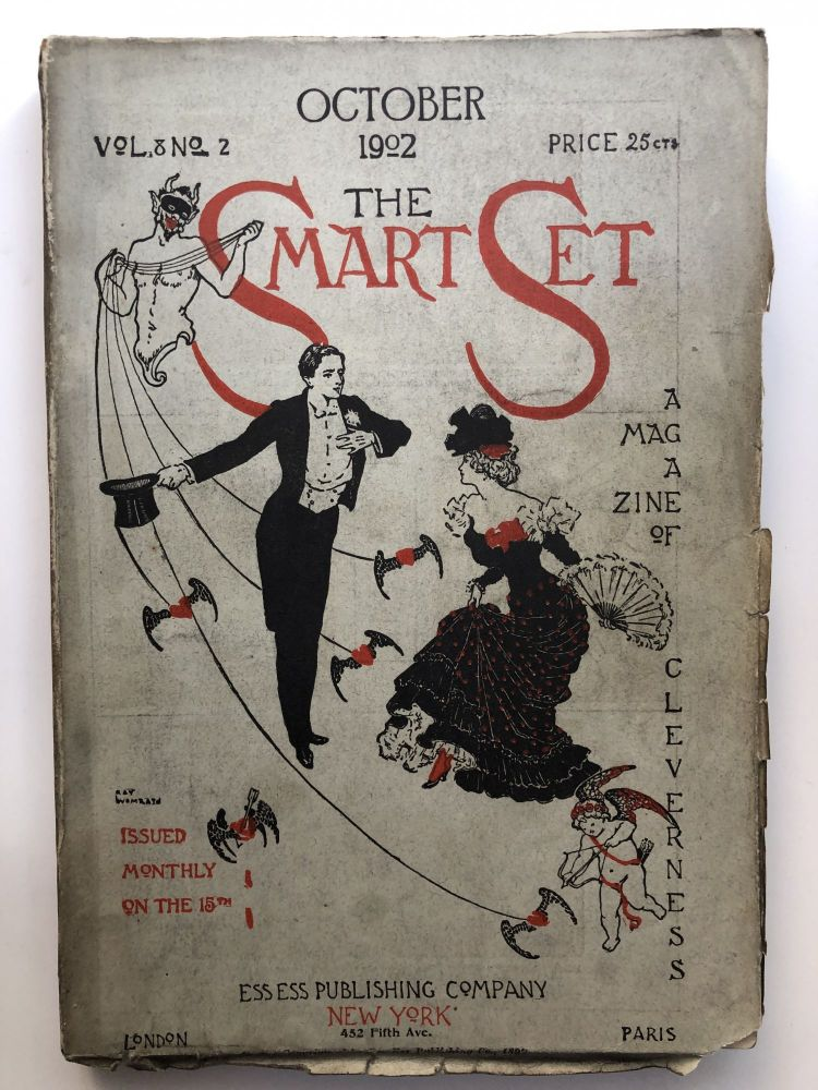 The Smart Set, a Magazine of Cleverness, October 1902. James Branch Cabell Arthur Symons, Emma Wolf.