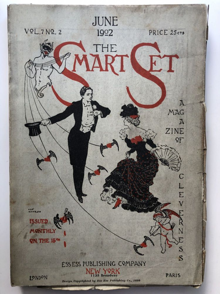 The Smart Set, a Magazine of Cleverness, June 1902. Zona Gale O. Henry, Edgar Fawcett.
