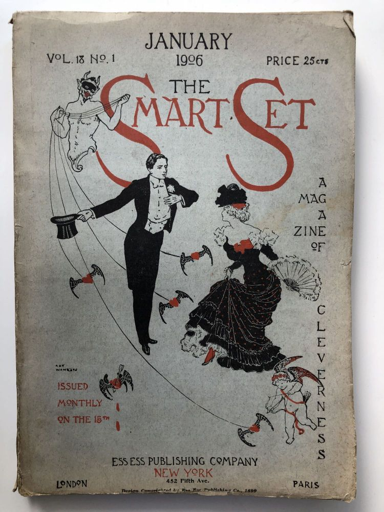 The Smart Set, a Magazine of Cleverness, January 1906. Ellis Parker Butler Arthur Symons.