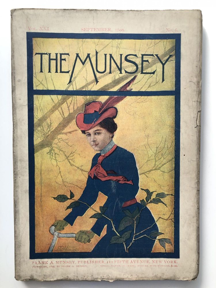 The Munsey [Munsey's Magazine] September 1899. Anne O'Hagan Stanley J. Weyman, Anthony Hope.