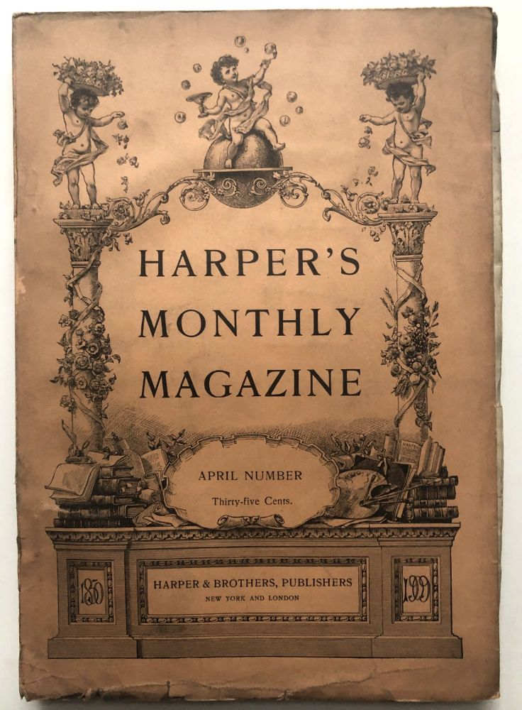 Harper's New Monthly Magazine, April 1909. Willa Cather, James Branch Cabell.