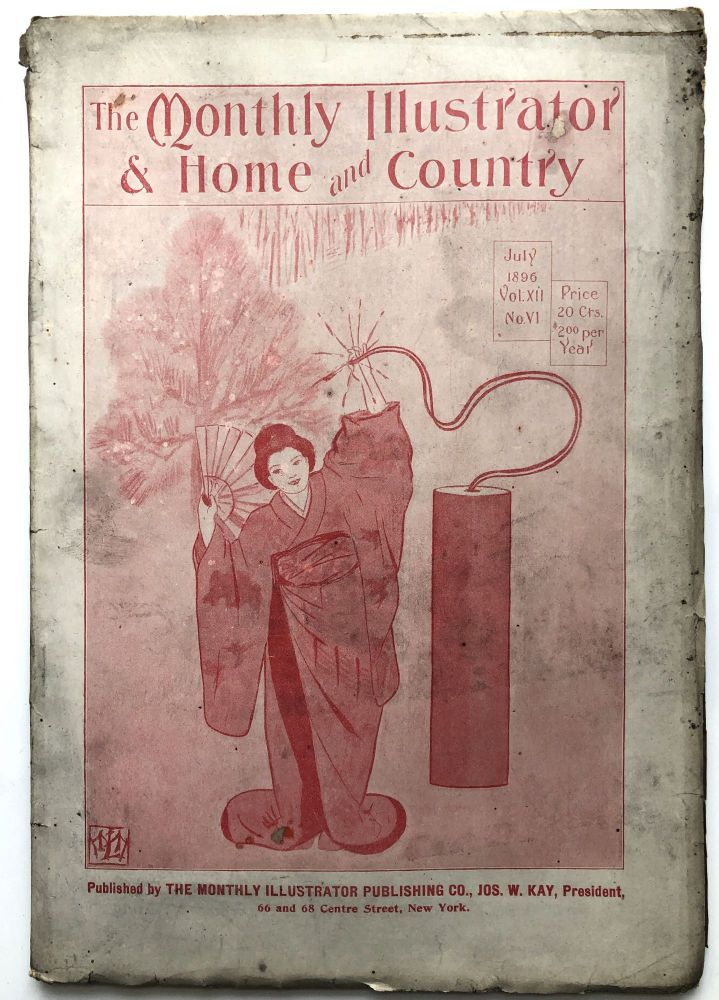 The Monthly Illustrator & Home and Country, July 1896. Rufus R. Wilson Edward Bisson.