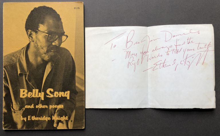 Belly Song and other poems. Etheridge Knight.