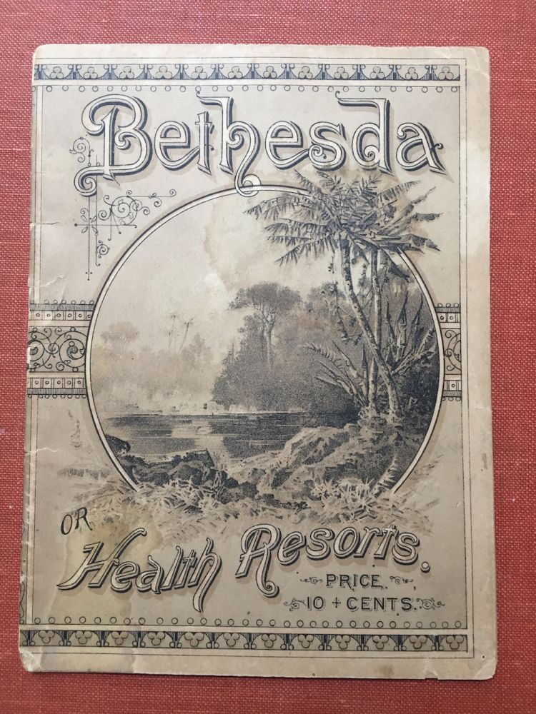 """Bethesda"" A Traveller's Criticism on our Health Resorts, their Scenery, Climatic Peculiarities and Curative Influence. Clapp Billings, Co."