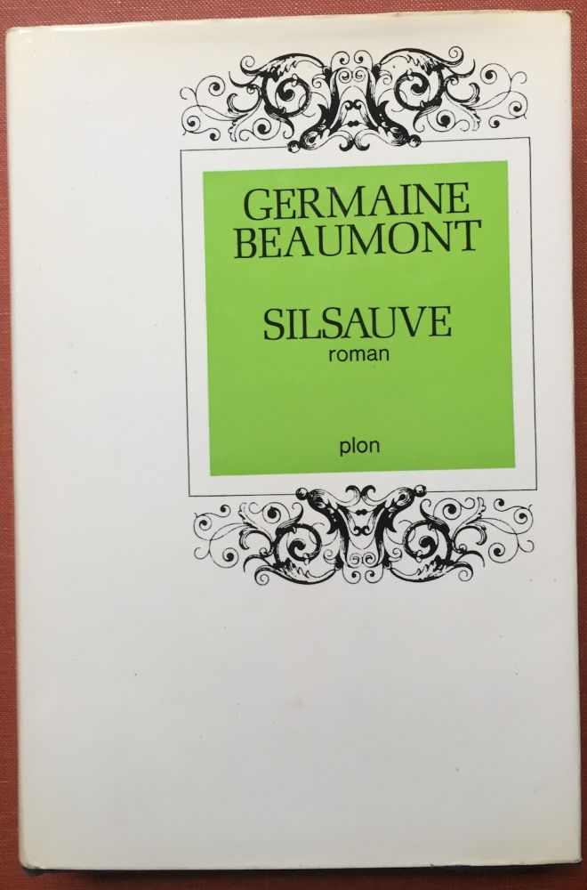 Silsauve, roman. Inscribed by author.