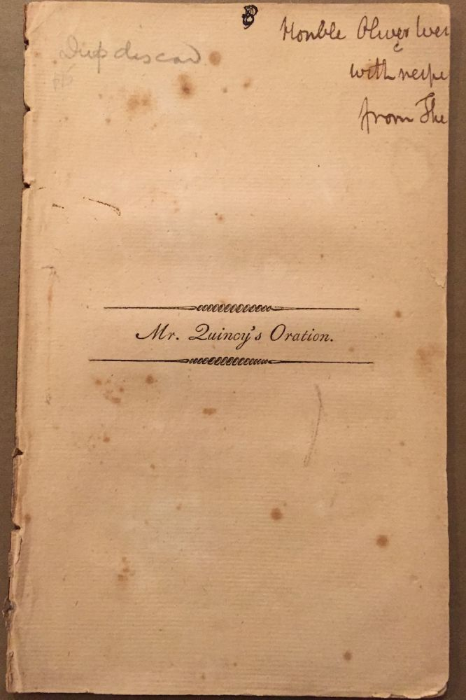 An Oration, Pronounced July 4, 1798, at the Request of...