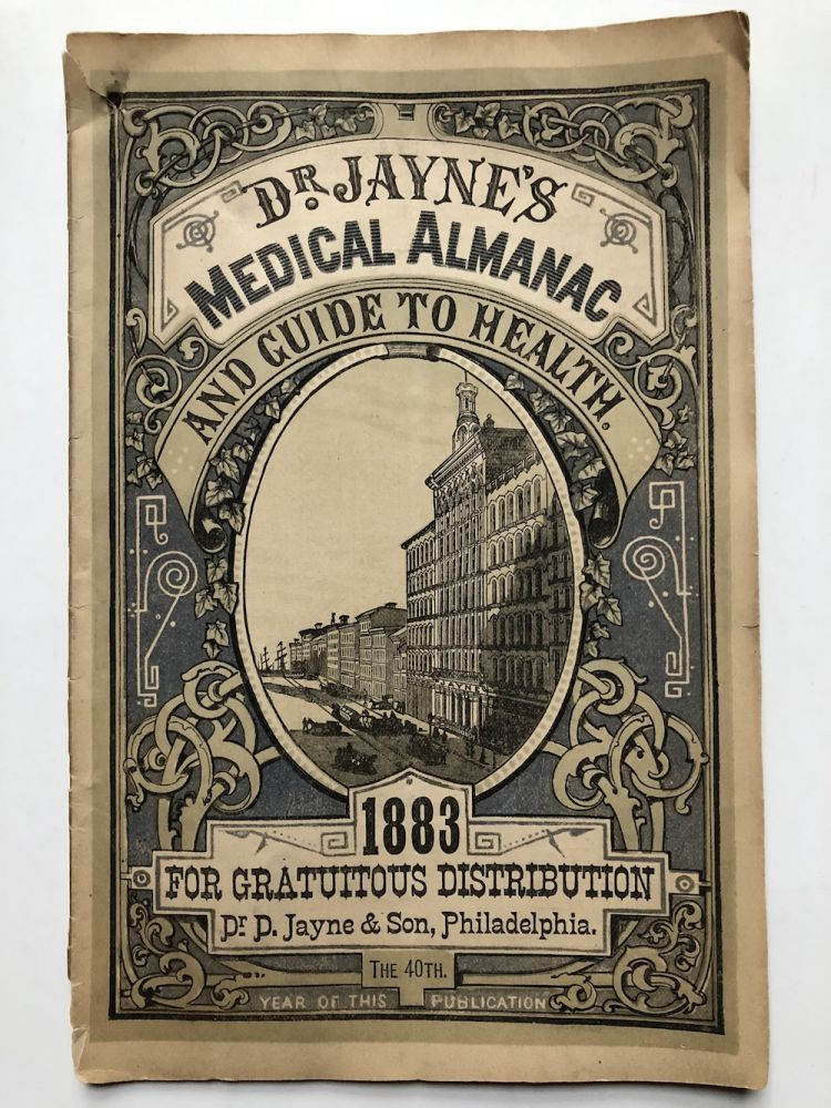 Dr. Jayne's Medical Almanac and Guide to Health 1883