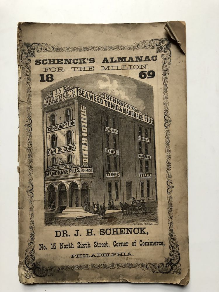 Schenk's Almanac for the million, 1869