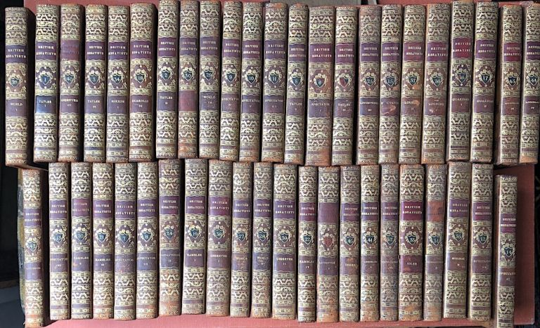 The British Essayists, 45 volumes, complete, 1817. A. ed. Chalmers, prefaces and notes, Alexander.