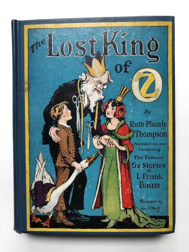 The Lost King of Oz (first edition, 1925)