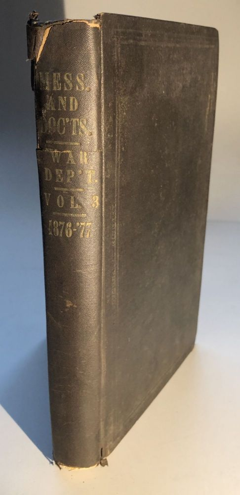 Report of the Secretary of War (1876)...Vol. III: Report of the Chief of Ordnance. S. Crispin, Chief of Ordnance.