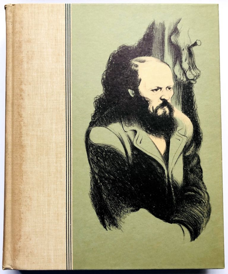 The Brothers Karamazov - presentation copy to Margaret McElderry from Eichenberg, with 3 inserted lithographs signed by him. Fyodor Dostoevsky, by Fritz Eichenberg.