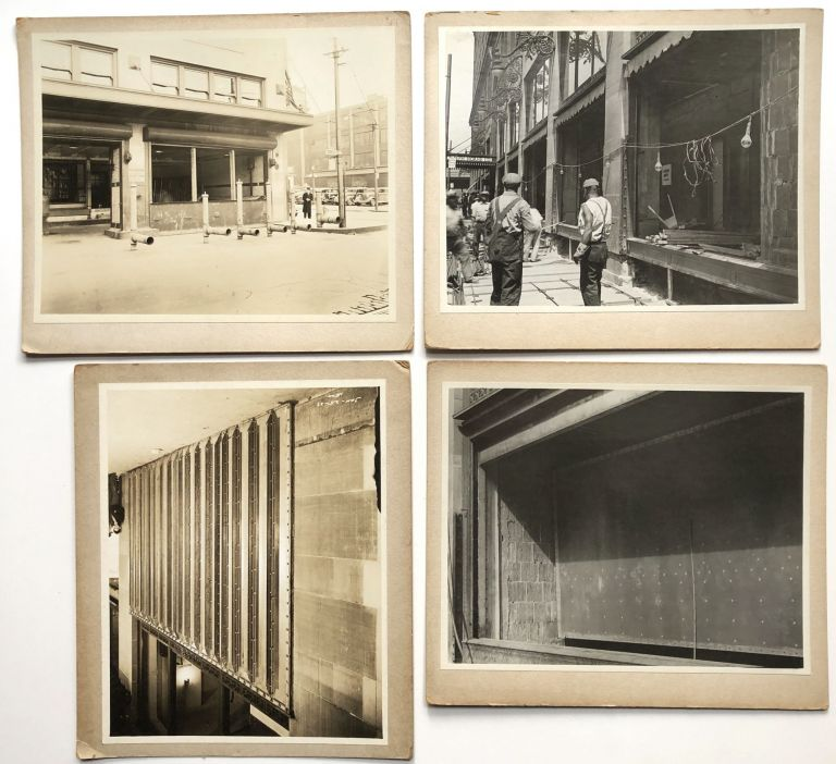 25 8x10 original photos of Joseph Horne department store, 1937, getting renovated after massive 1936 flood. Pittsburgh - 1936 Flood.
