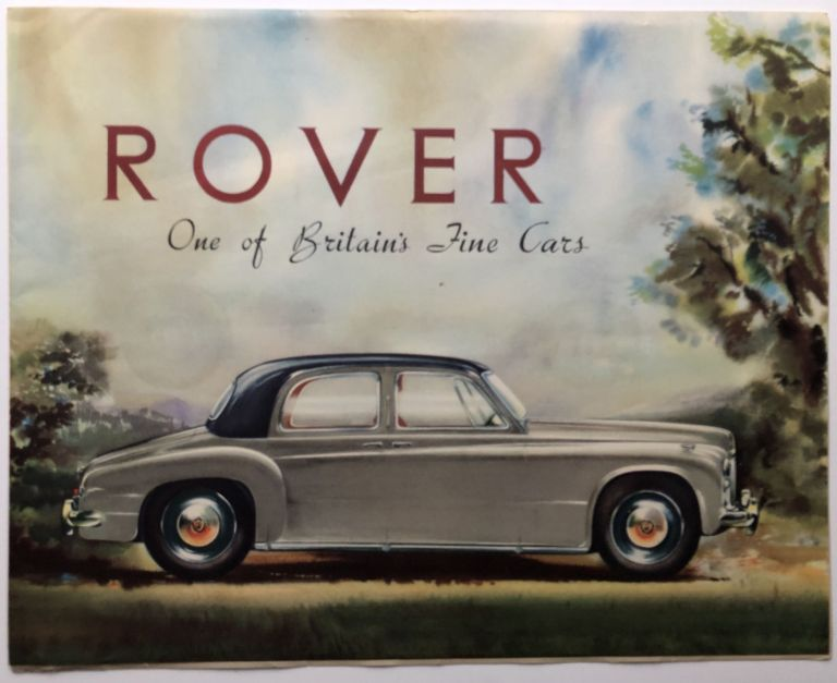 1953 brochure for the Rover 90