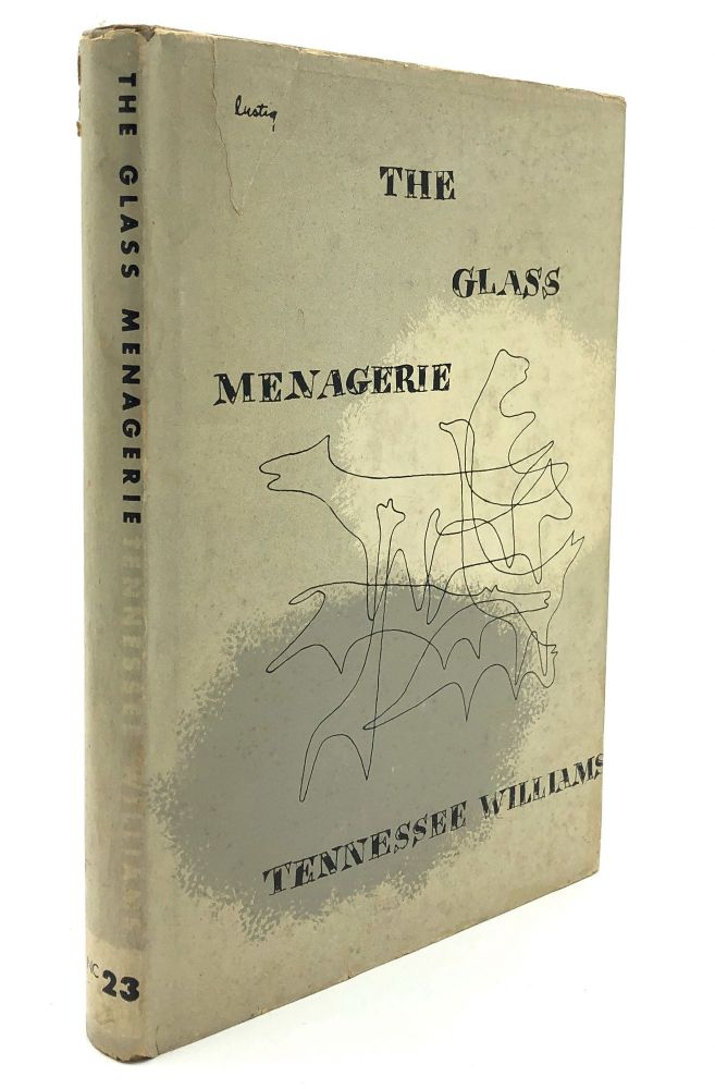 The Glass Menagerie. Tennessee Wiliams, Alvin Lustig DJ.