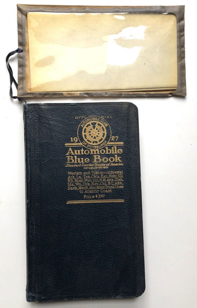 Official Automobile Blue Book, 1927 Vol. 4: Western States (Texas up to ND and all West)