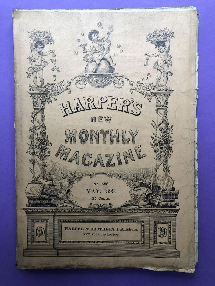 Harper's New Monthly Magazine, May 1899. Frederic Remington Henry Cabot Lodge.