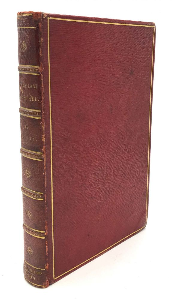 The Lay of the Last Minstrel (1809) with DOUBLE fore-edge painting. Fore Edge Painting, Sir Walter Scott.