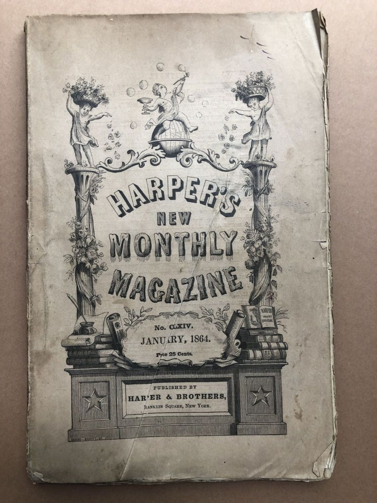 Harper's New Monthly Magazine, January 1864. Mary Mapes Dodge Anthony Trollope.